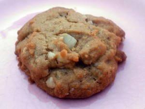 White chocolate chunk cookie