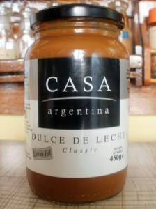 Jar of dulce de leche