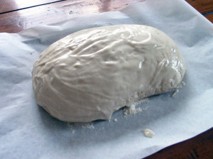 Tiger bread dough