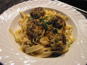 Indian Spiced Meatballs with Pasta